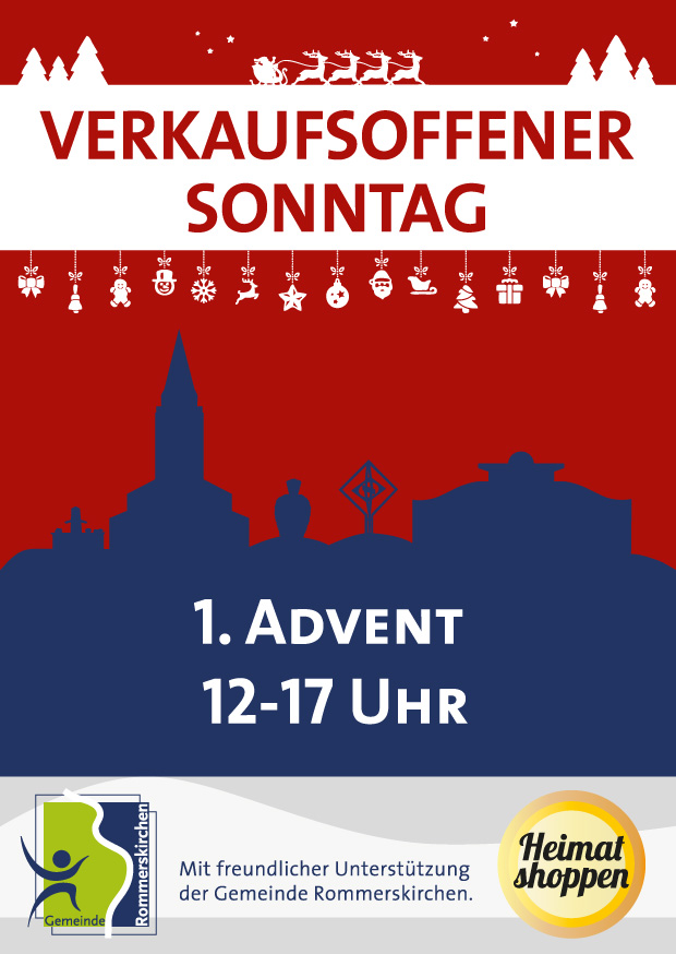 verkaufsoffener sonntag am 1 advent in rommerskirchen martin mertens. Black Bedroom Furniture Sets. Home Design Ideas