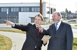 Martin Mertens und Rudolf Wolf, FDP-Kreistagsabgeordneter für Rommerskirchen