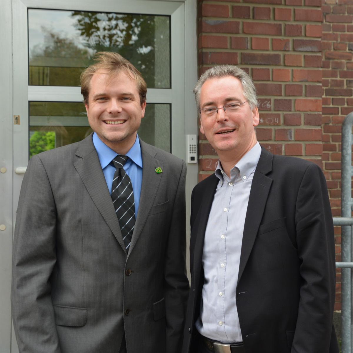 Hans Christian Markert, MdL zu Gast im Rommerskirchener Rathaus